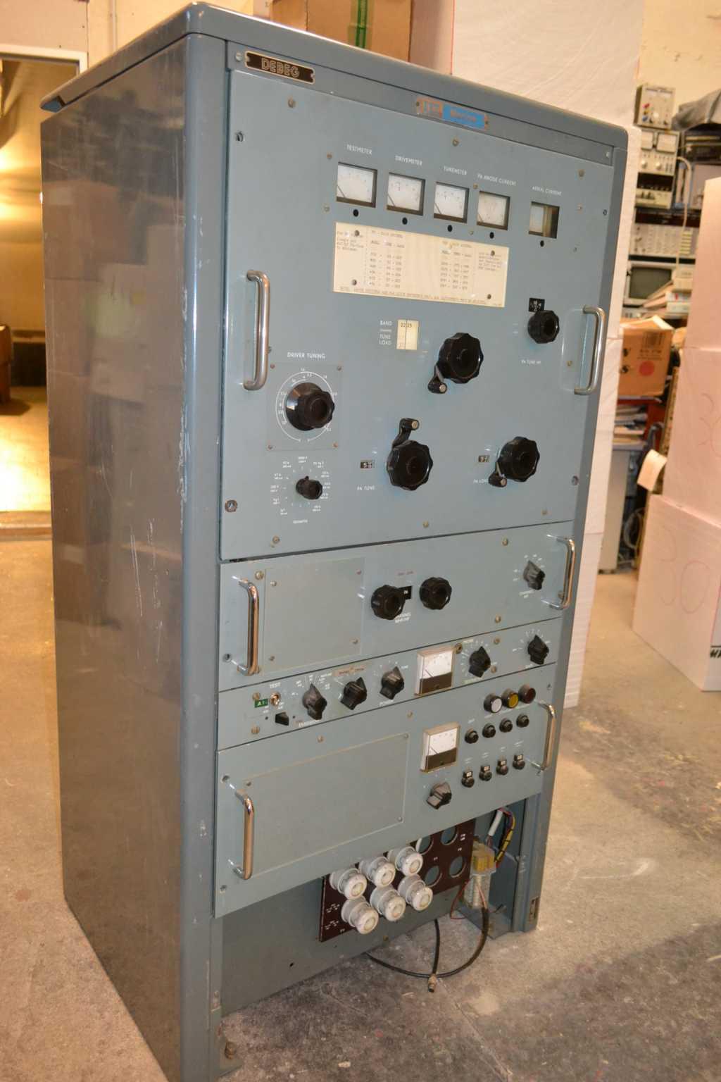 Marine Sender Debeg / ITT / SRS